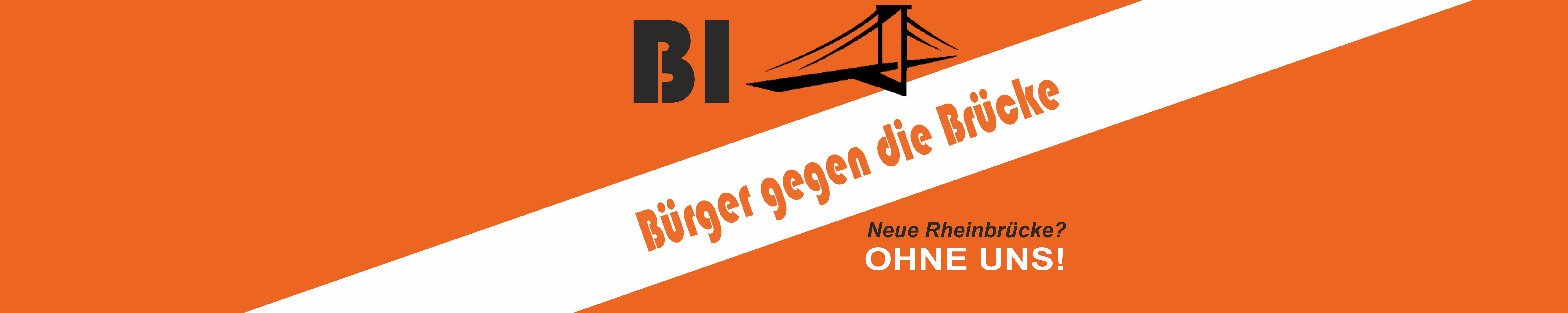 Bürgerinitiative gegen die Brücke
